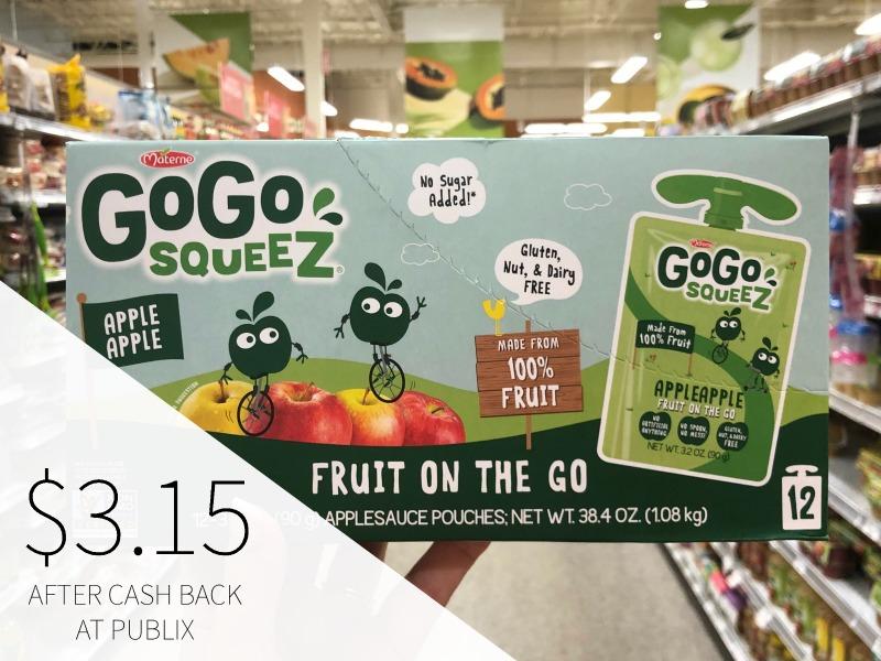 GoGo Squeez Applesauce 12-pk Just $3.15 At Publix on I Heart Publix 1