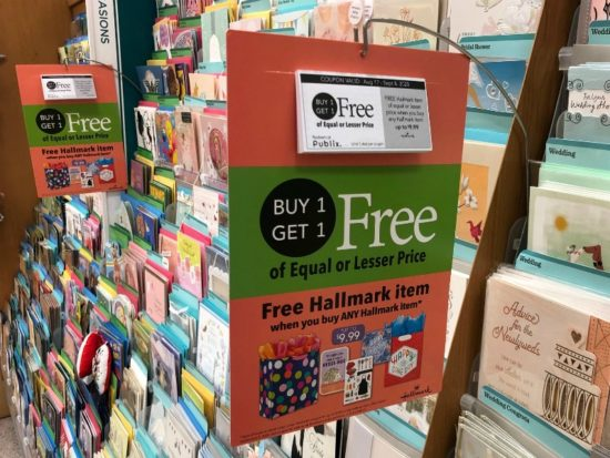 Hallmark Publix Coupon Means Cheap Cards For Dad At Publix on I Heart Publix