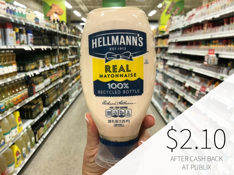 Hellmann's Mayonnaise As Low As $1.60 At Publix on I Heart Publix 1