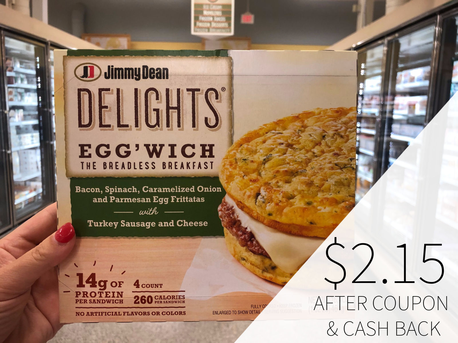 New Jimmy Dean Coupons For The Publix Sale - Jimmy Dean Delights Just $2.65 on I Heart Publix