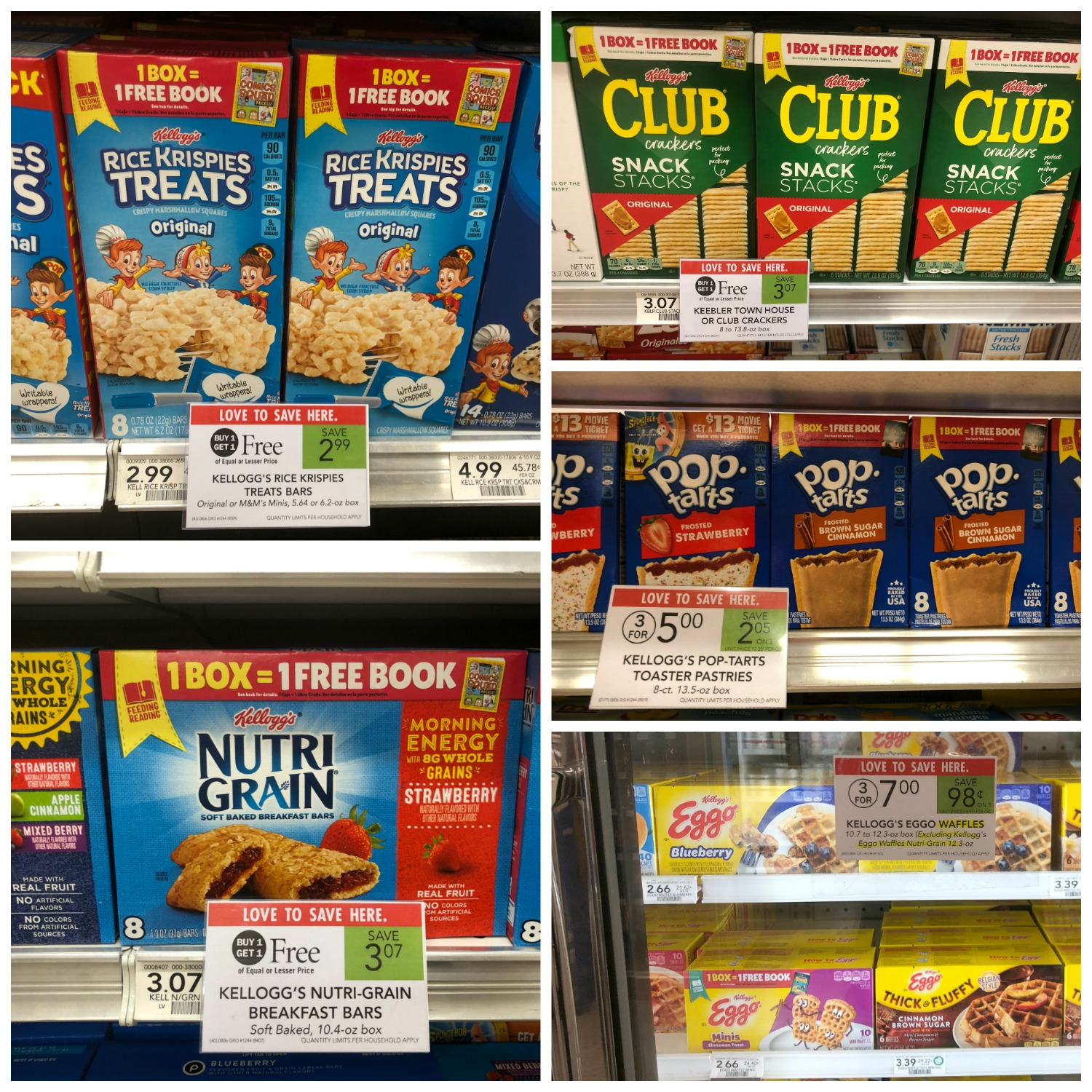 Get Free Books & Fantastic Deals This Week At Publix - Check Out The Kellogg's Feeding Reading Program on I Heart Publix 1