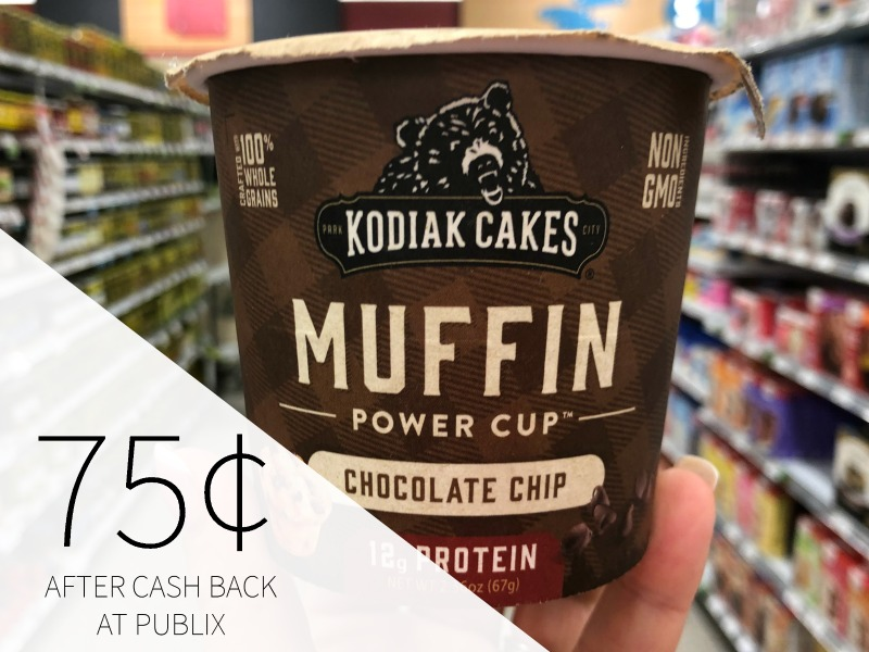 Kodiak Cakes Muffin Cups Just $1 At Publix on I Heart Publix 3
