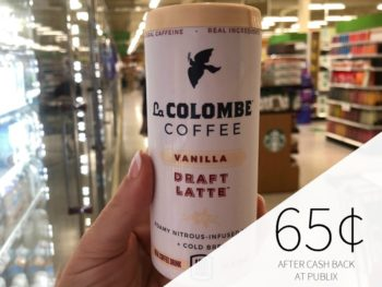 La Colombe Draft Latte Coffee Singles Just $1.75 At Publix on I Heart Publix 1