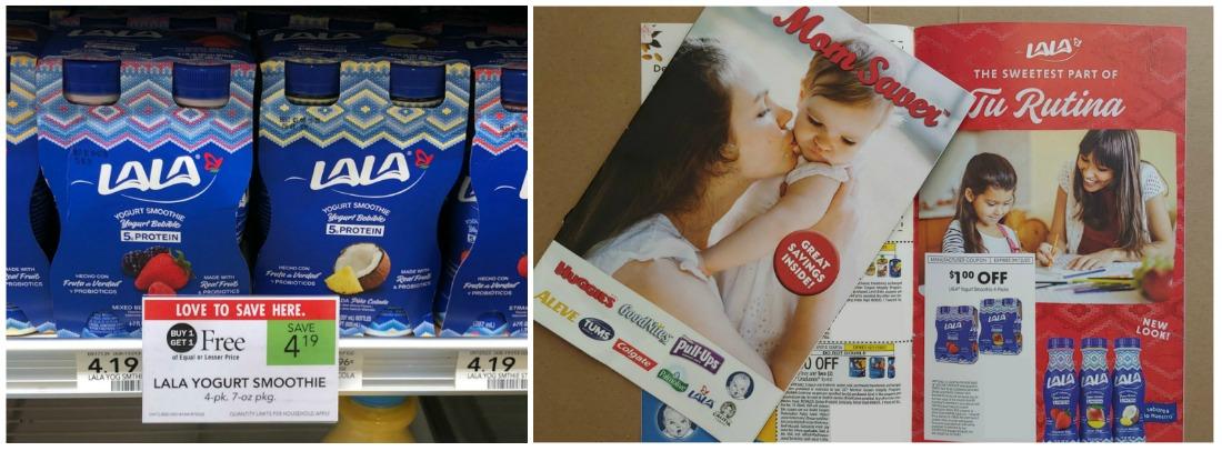 LALA Yogurt Smoothie 4-Pack Just $1.10 At Publix on I Heart Publix