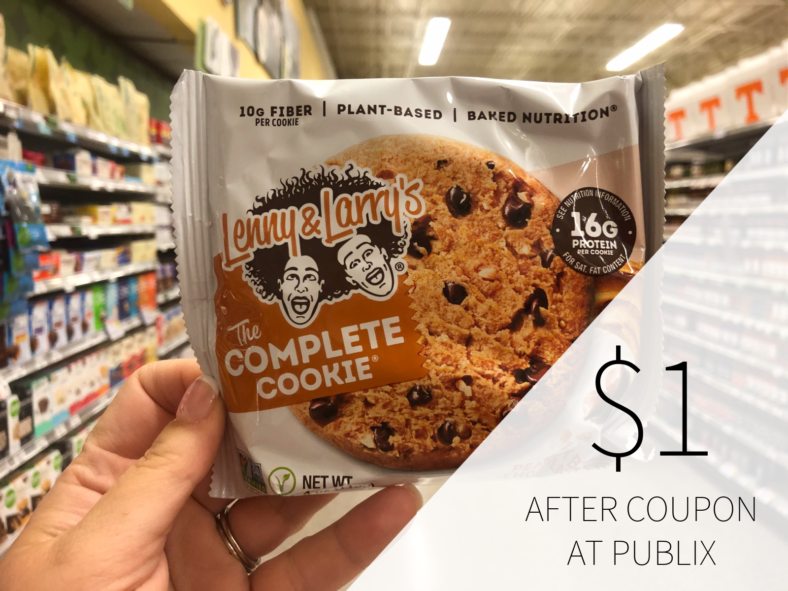 Lenny & Larry's The Complete Cookie As Low As $1 At Publix on I Heart Publix 1