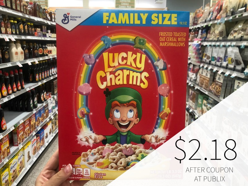 BIG Boxes of General Mills Cereal As Low As $2.18 At Publix on I Heart Publix 1