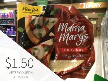 Mama Mary's Pizza Crusts Are As Low As $1.25 At Publix on I Heart Publix 2