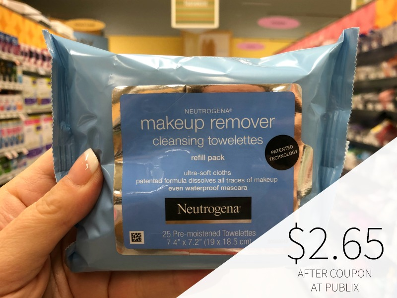 Neutrogena Makeup Remover Cleansing Towelettes Just $2.65 At Publix on I Heart Publix