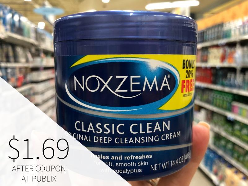 Noxzema Cleansing Cream Just $1.69 At Publix on I Heart Publix