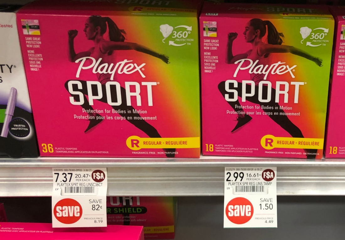 Playtex Sport Tampons Just $1.49 At Publix on I Heart Publix 4