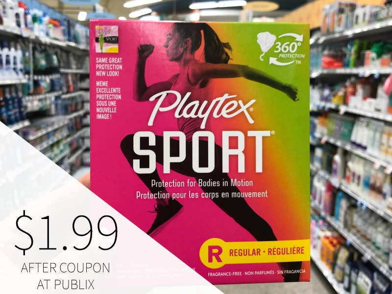 Playtex Sport Tampons Just $1.49 At Publix on I Heart Publix 5