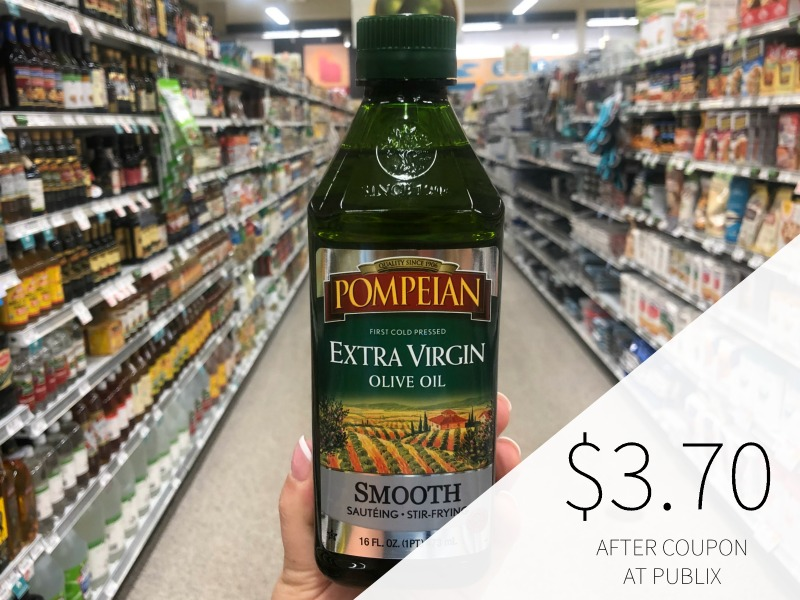 Pompeian Imported Olive Oil on I Heart Publix 1