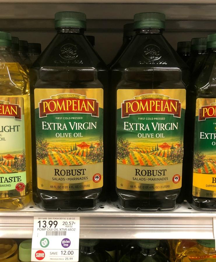 Pompeian Extra Virgin Olive Oil HUGE Bottle Just $13.44 (Save Over $12!) on I Heart Publix