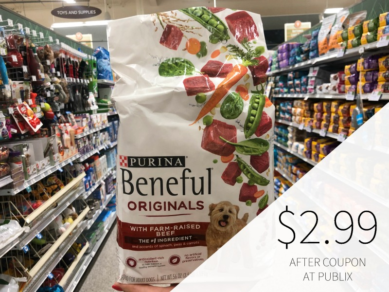 New Purina Beneful Dry Dog Food Coupon - Just $2.99 At Publix on I Heart Publix