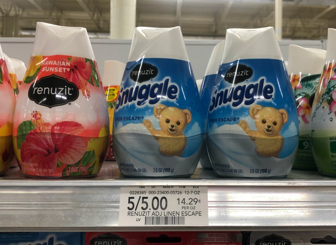 New Renuzit Coupon Makes For A Super Deal On Air Fresheners - Just 33¢ Each At Publix on I Heart Publix 2