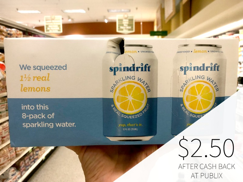Spindrift Sparkling Water Just $2 on I Heart Publix