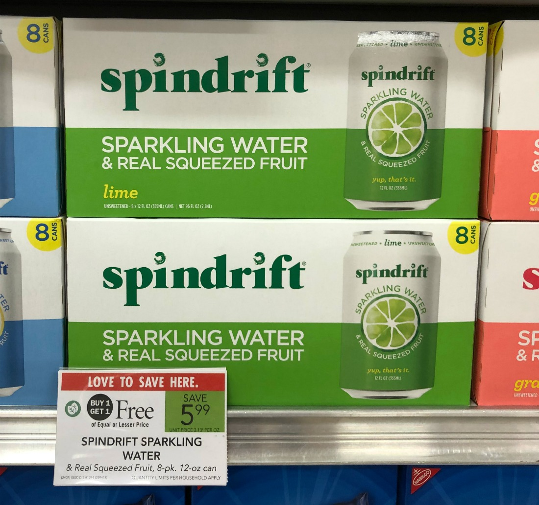 Save $2 On Spindrift Sparkling Water At Publix on I Heart Publix