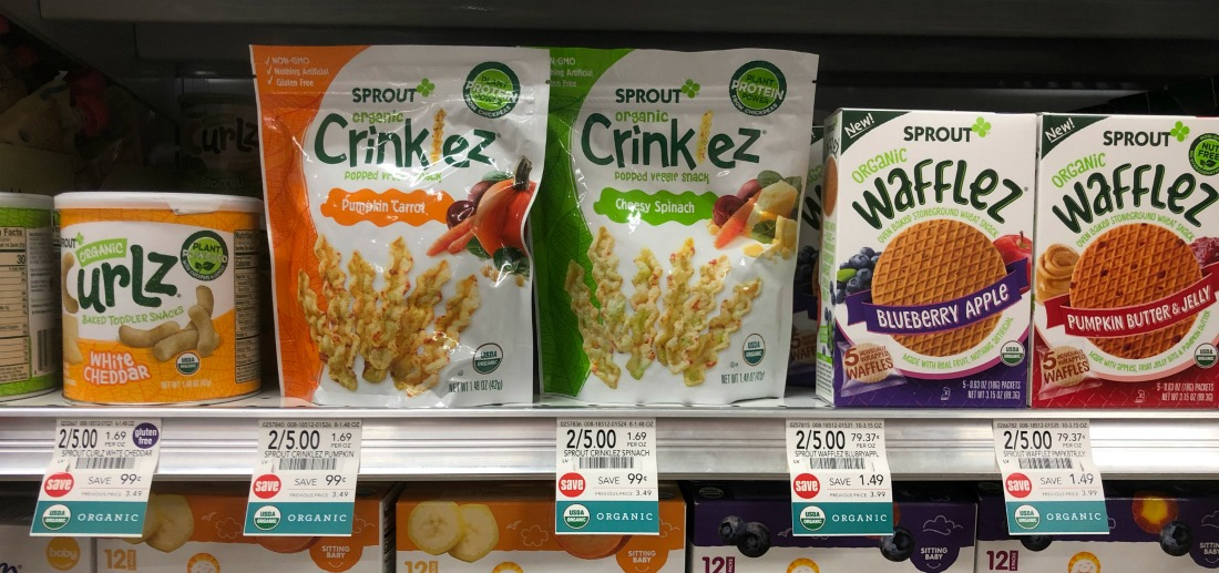 Sprout Snacks Just $1.50 At Publix on I Heart Publix