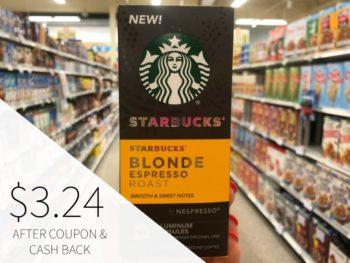 Starbucks Espresso Capsules Just $3.24 (reg $8.99) + Cheap Cold Brew on I Heart Publix 1