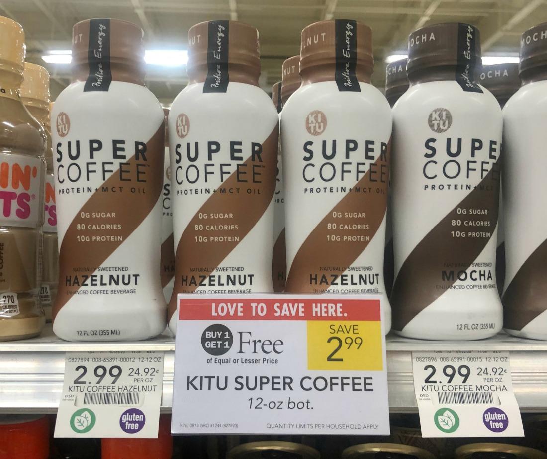 Super Coffee As Low As $1 Per Bottle At Publix on I Heart Publix