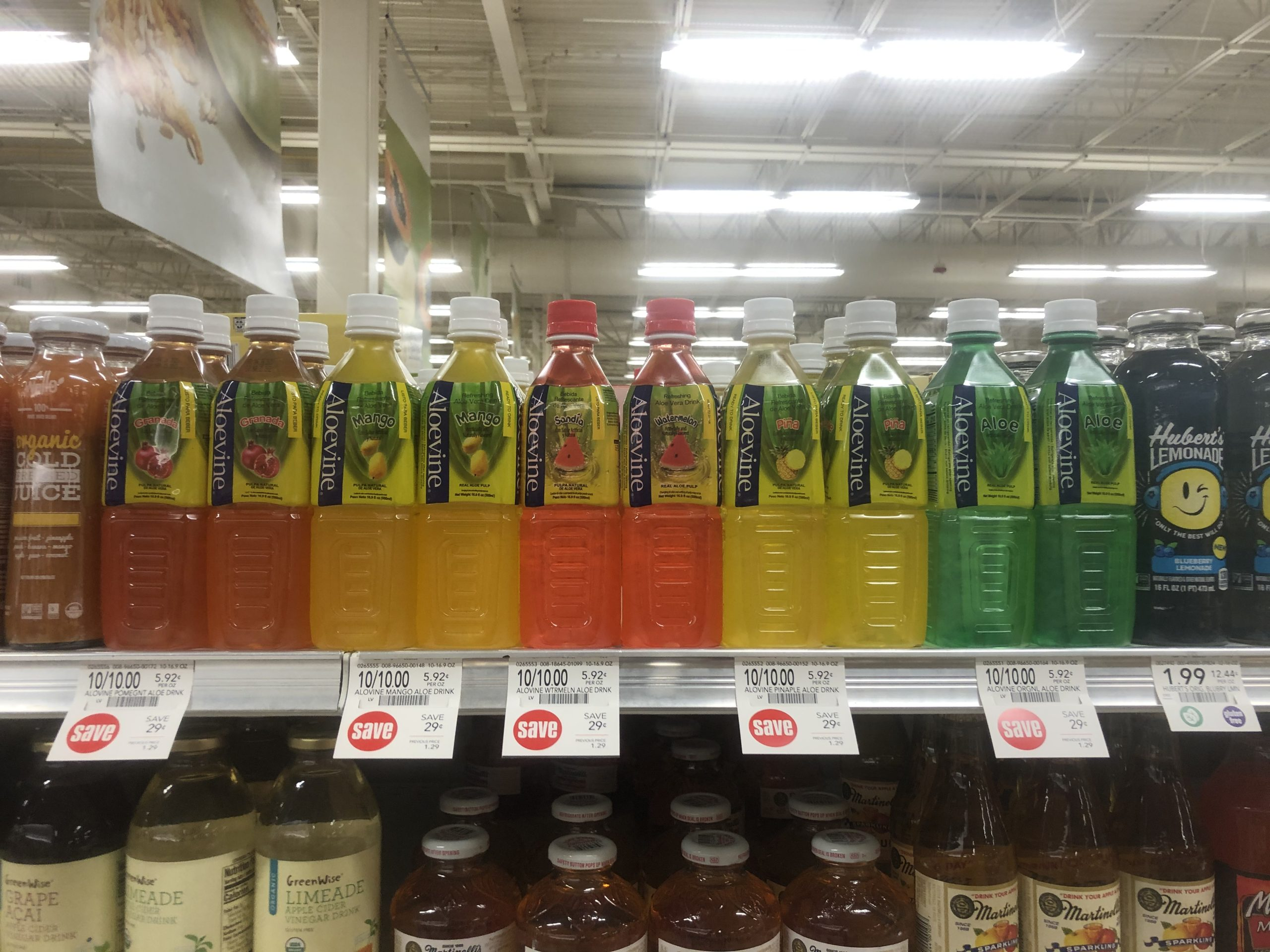 Delicious Aloevine Drinks Are On Sale 10/$10 At Publix on I Heart Publix 1
