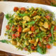 Cauliflower Gnocchi With Arugula Pesto & Sweet Corn - Easy & Delicious Way To Add More Veggies To Your Menu! on I Heart Publix