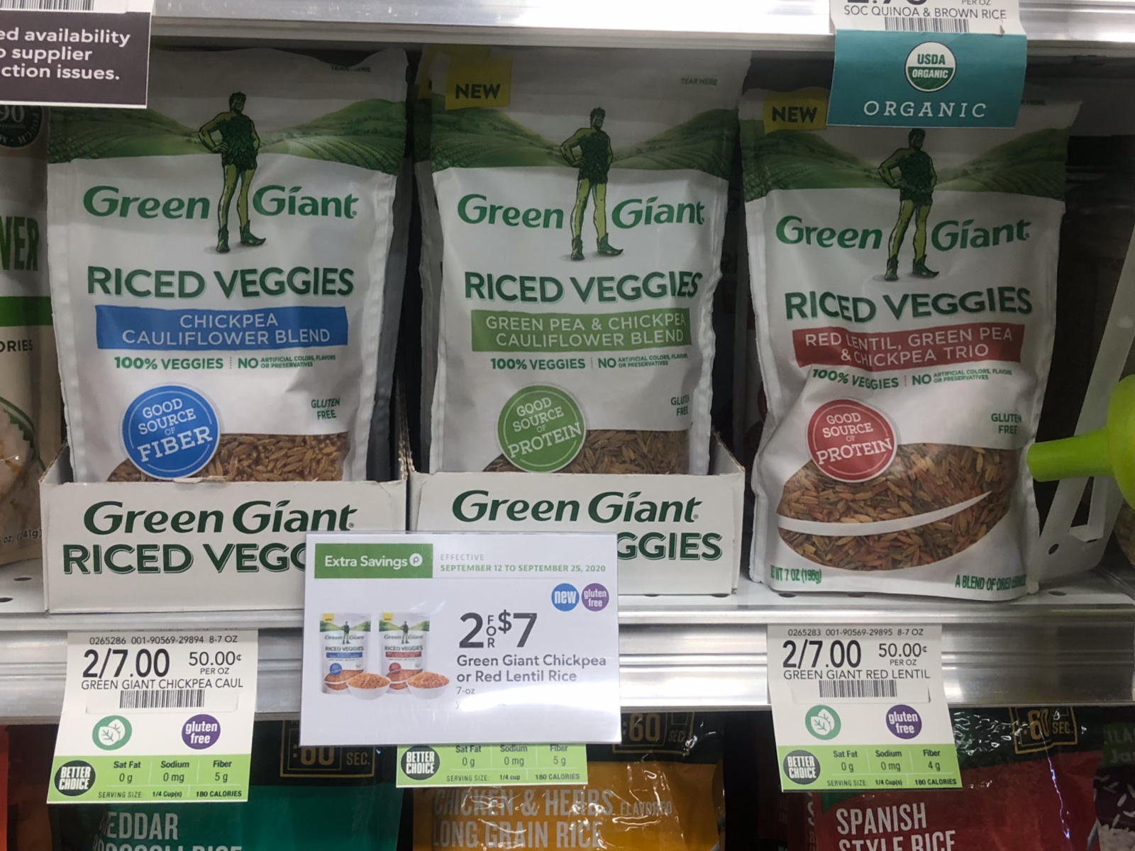 Greek Riced Veggie Salad - Perfect Meal To Go With The Sale On Green Giant® Riced Veggies At Publix! on I Heart Publix