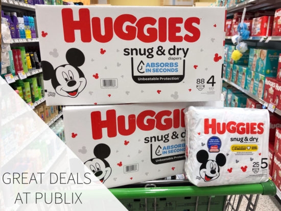 Save $10 Automatically At Checkout When You Buy $40 Of Huggies Diapers And Pull-Ups At Publix on I Heart Publix