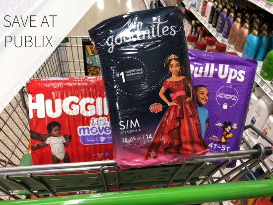 Head Into Publix For Great Deals On Huggies Diapers, Pull-Ups AND GoodNites! on I Heart Publix 2
