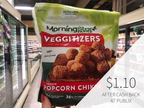 MorningStar Farms Veggitizers Just 60¢ Per Bag on I Heart Publix 2