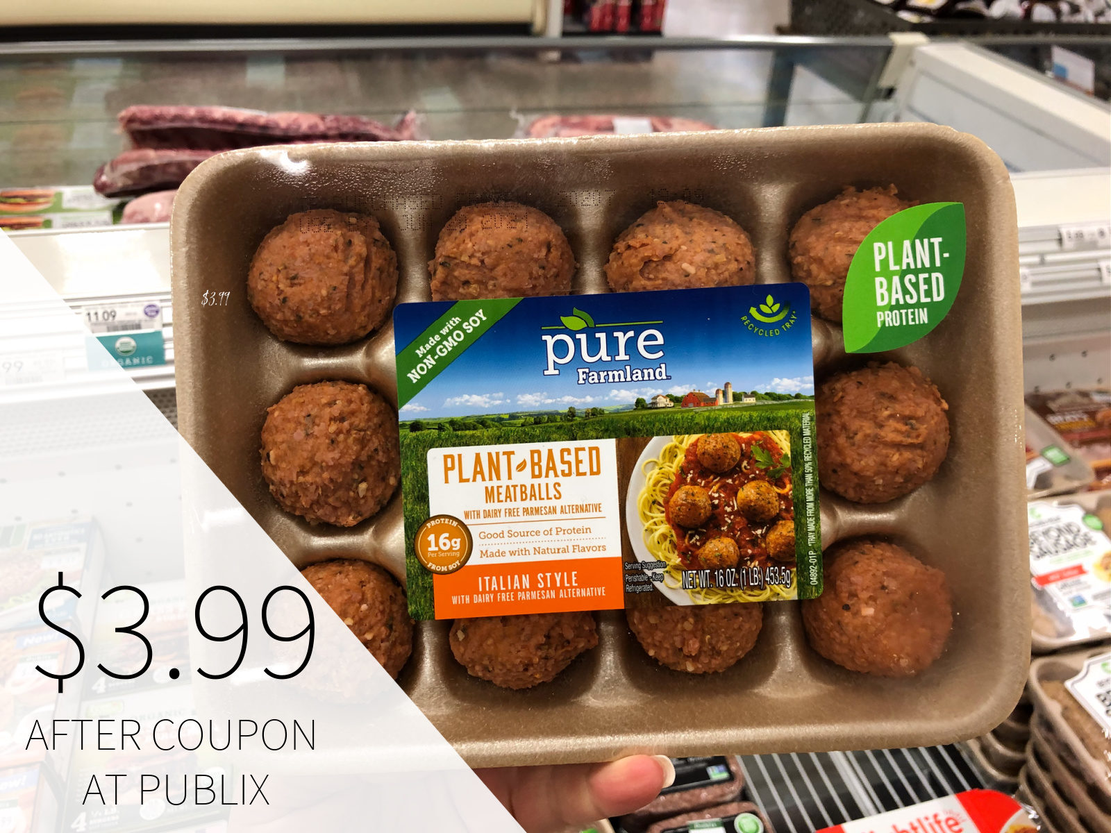 Pull-Apart Meatball Ring - Delicious Recipe For The $2 Pure Farmland Coupon on I Heart Publix 3