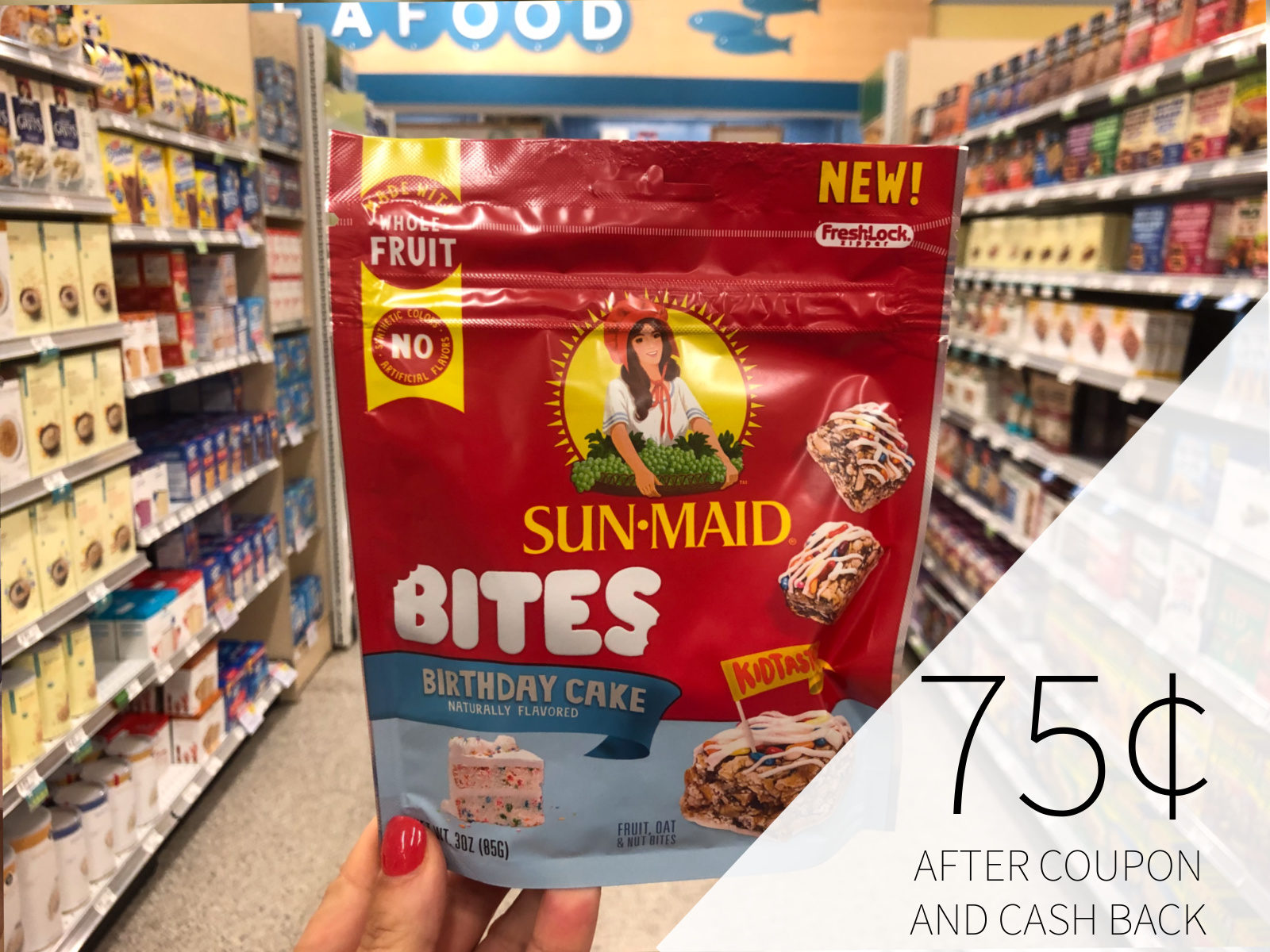 Try New Sun-Maid Bites At A HUGE Discount + A Giveaway (Four Readers Will Win A $50 Publix Gift Card) on I Heart Publix 2