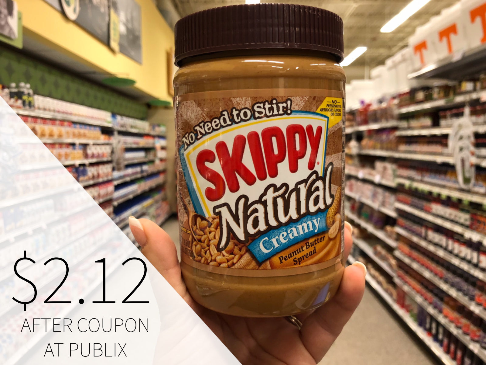 Big Jars Of Skippy Peanut Butter As Low As $2.22 At Publix on I Heart Publix