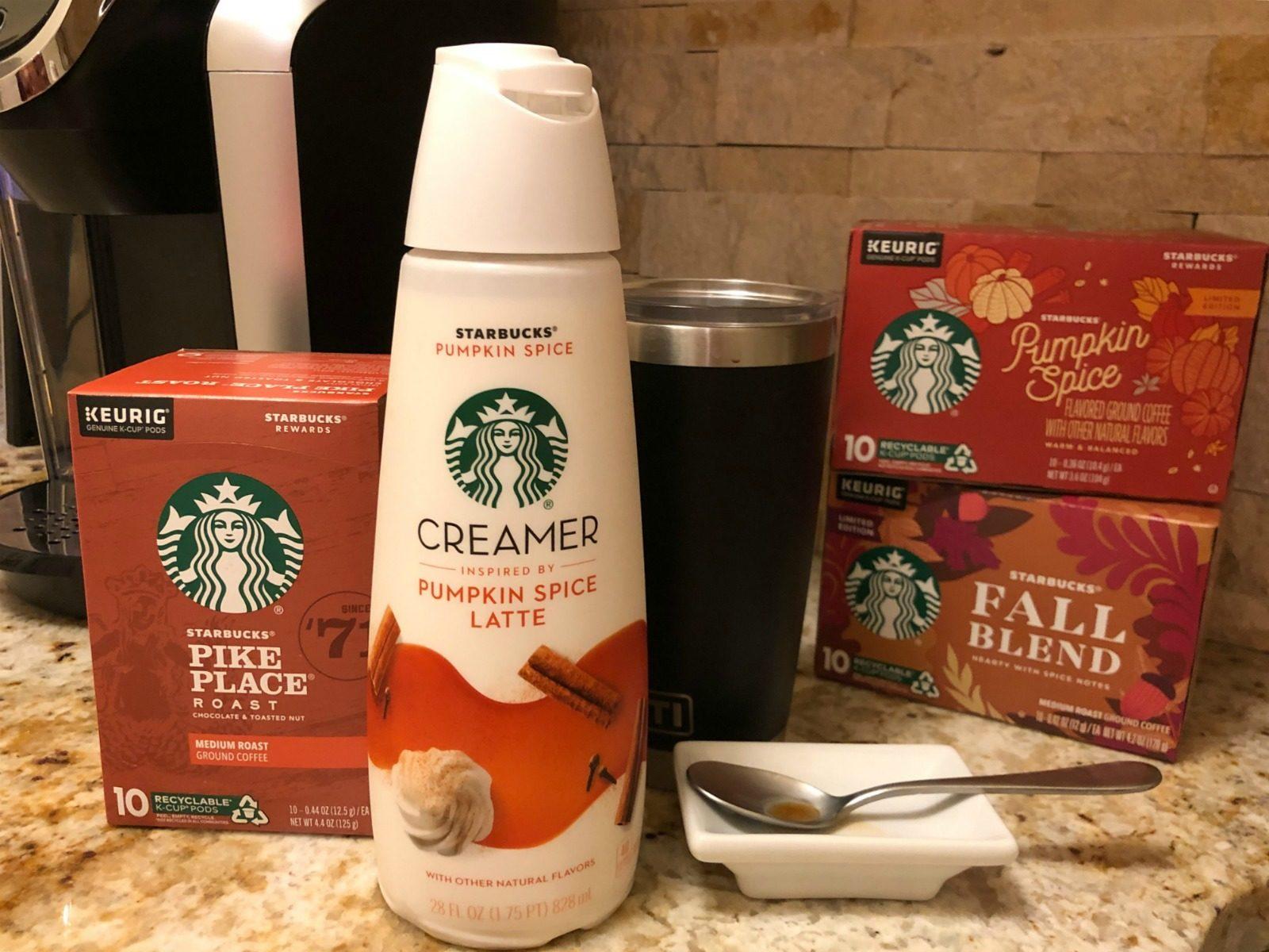 Savor That Fall Feeling & Enjoy BIG Savings On Starbucks Coffee & Creamer At Publix on I Heart Publix 2