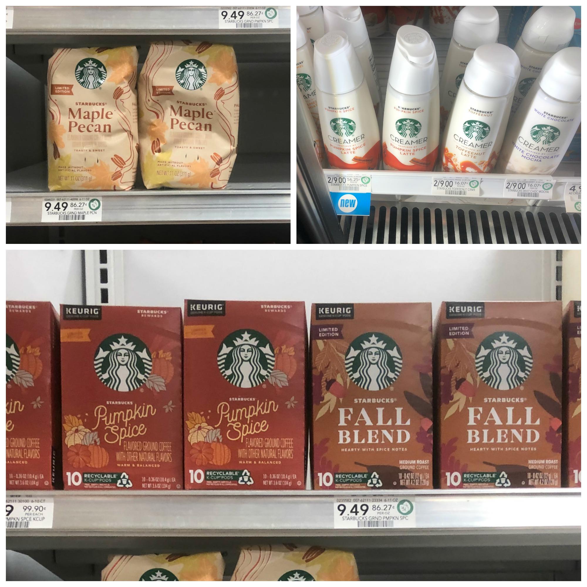 Savor That Fall Feeling & Enjoy BIG Savings On Starbucks Coffee & Creamer At Publix on I Heart Publix