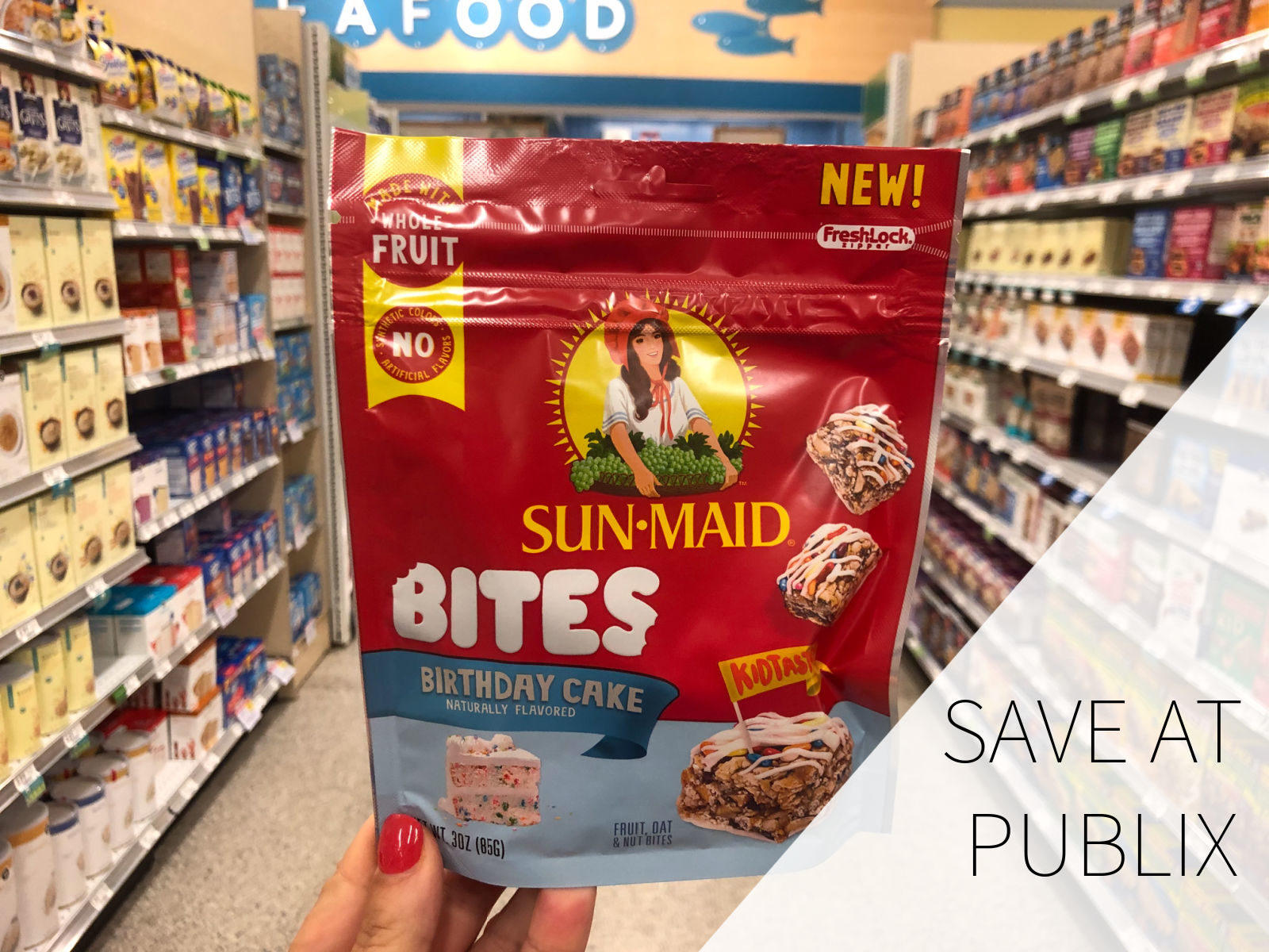 Try New Sun-Maid Bites At A HUGE Discount + A Giveaway (Four Readers Will Win A $50 Publix Gift Card) on I Heart Publix