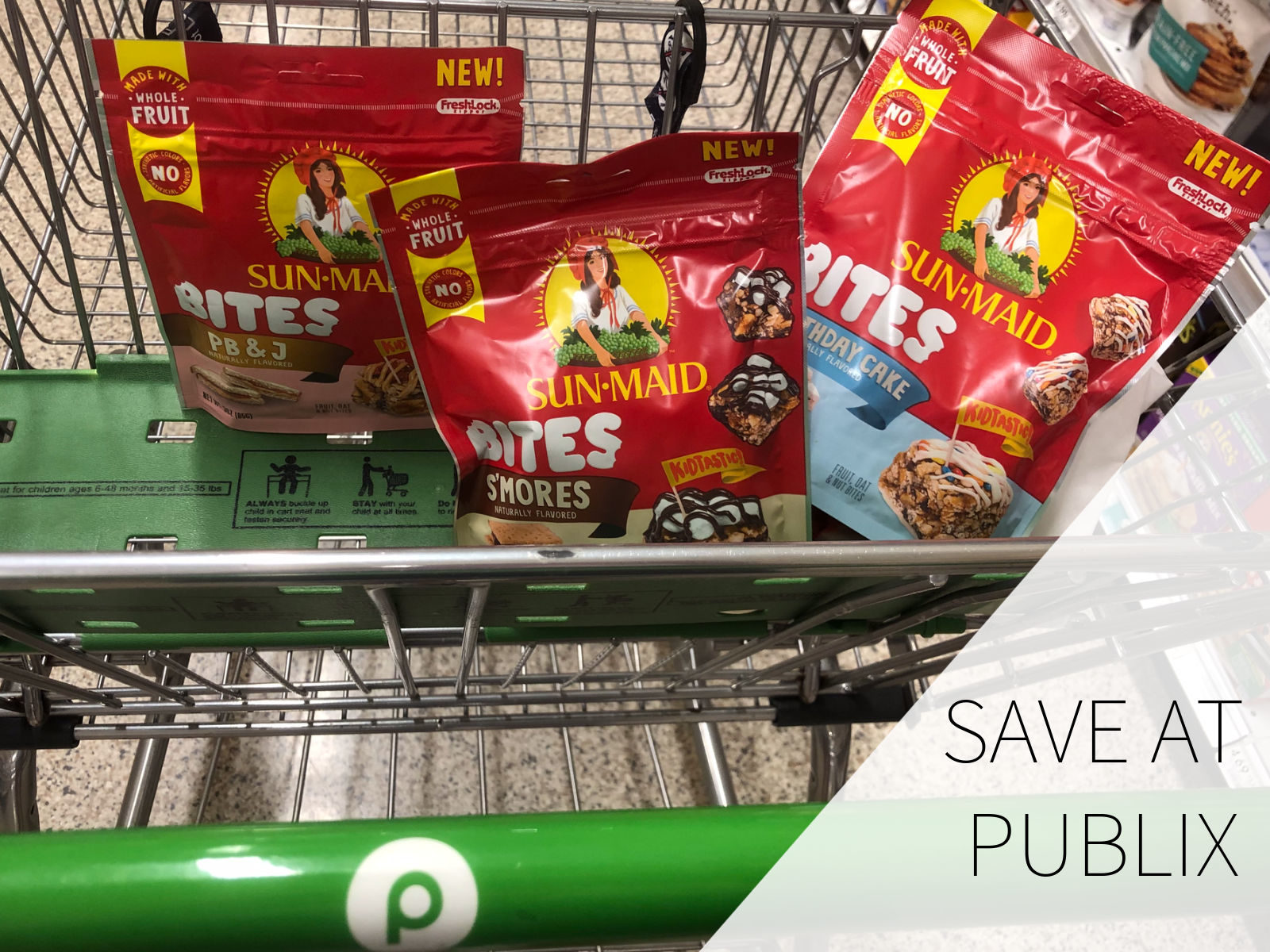 Pick Up Savings On Delicious New Sun-Maid Bites At Publix on I Heart Publix 1