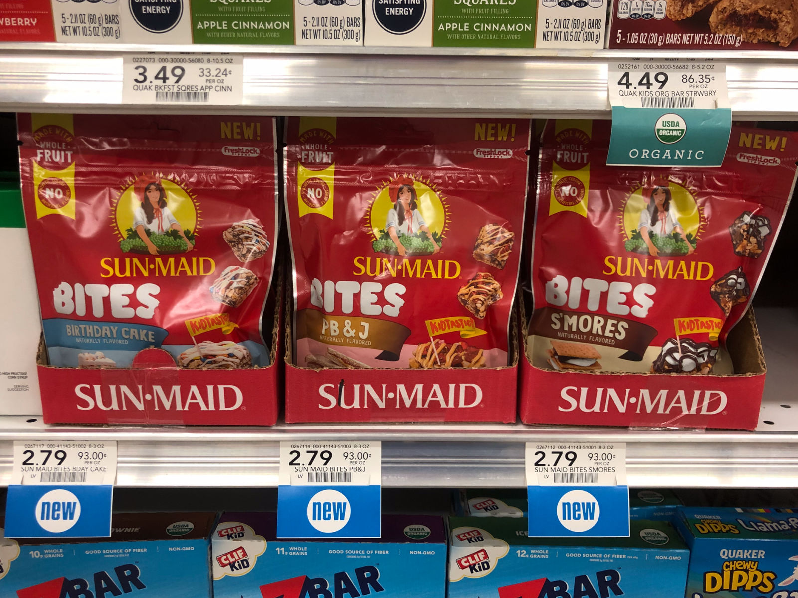 Pick Up Savings On Delicious New Sun-Maid Bites At Publix on I Heart Publix