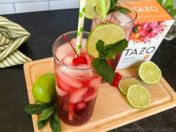 Try My TAZO Sparkling Passion Tea Limeade - Save On Your Favorite Now At Publix on I Heart Publix