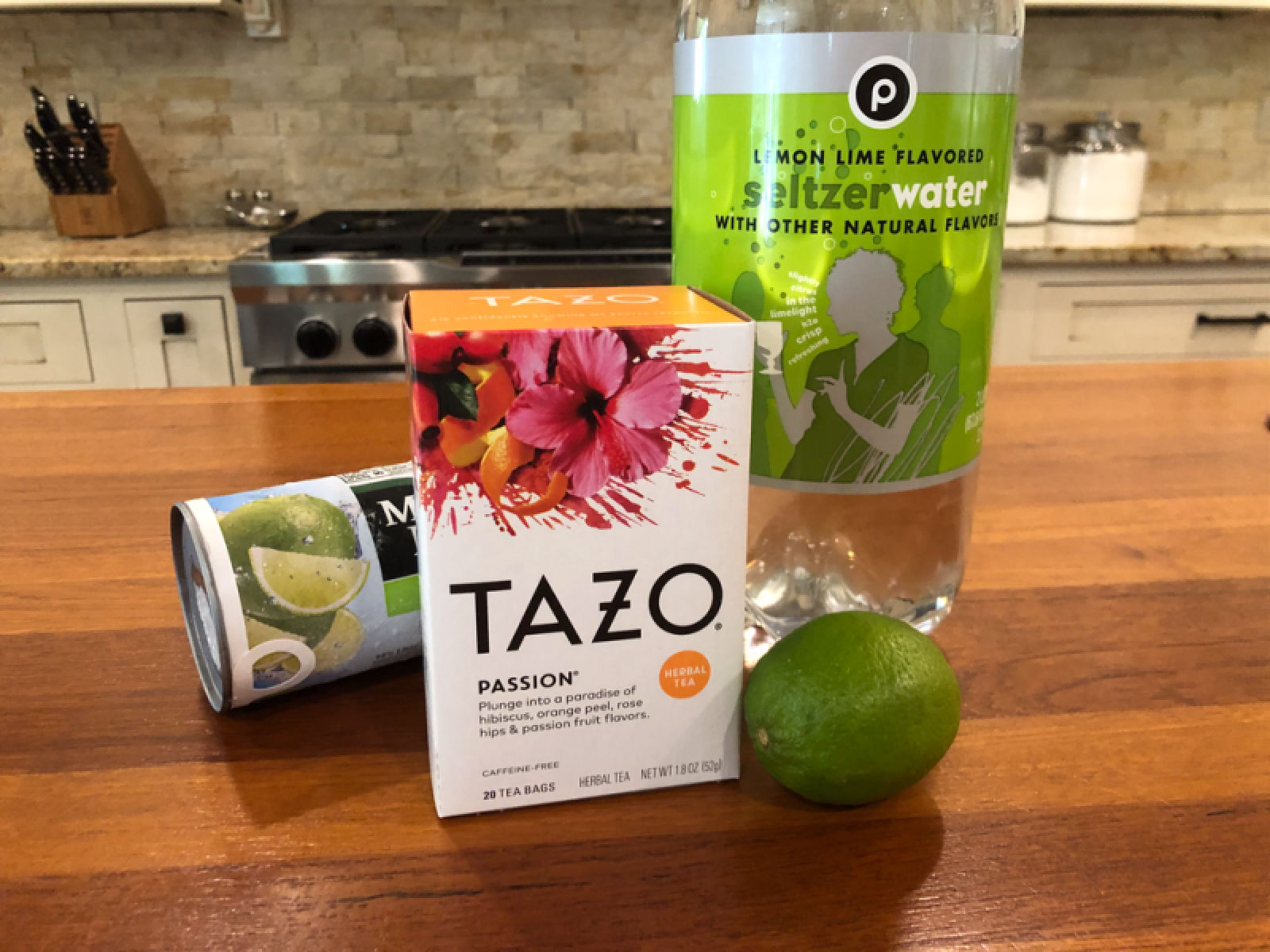 Try My TAZO Sparkling Passion Tea Limeade on I Heart Publix 1