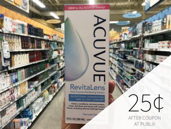 Acuvue RevitaLens Solution Just 25¢ At Publix on I Heart Publix 1