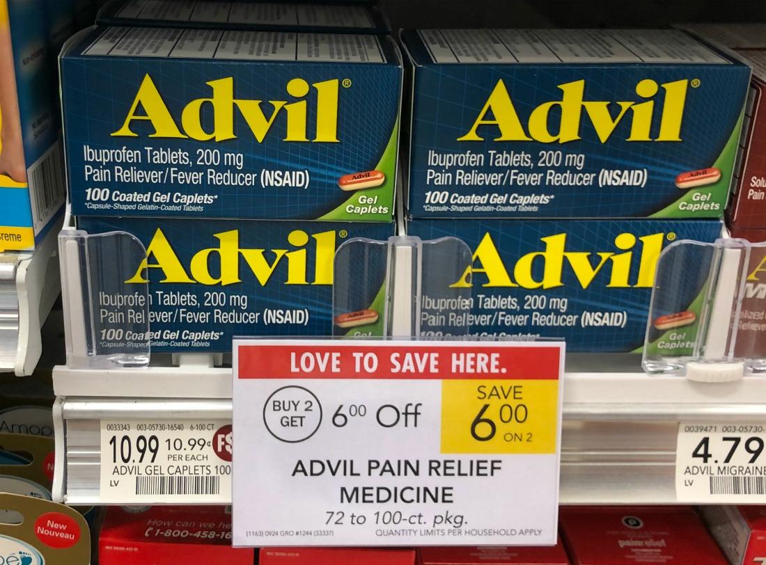 Advil Liqui-Gels 80ct As Low As $4.99 At Publix - Less Than Half Price on I Heart Publix