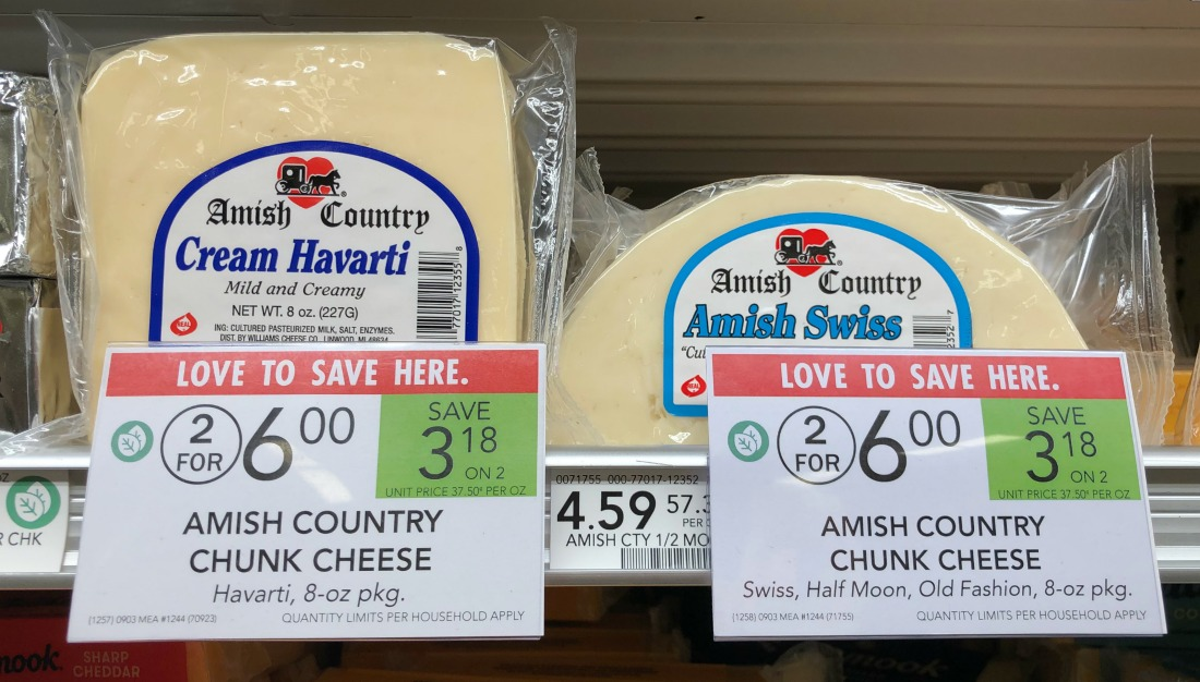 Amish Country Chunk Cheese Just $2.45 At Publix (Almost Half Price!) on I Heart Publix