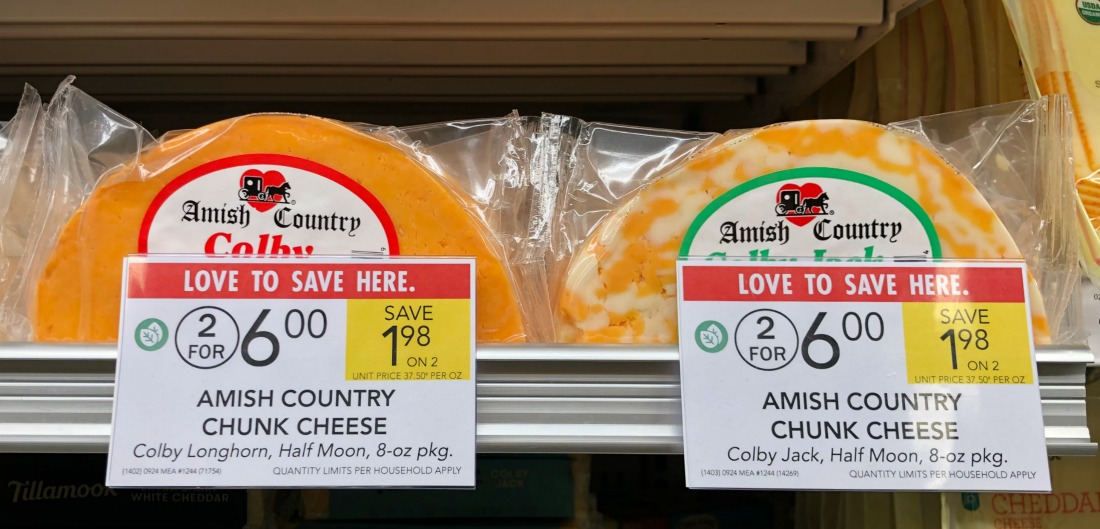 Amish Country Chunk Cheese Just $2.45 At Publix (Almost Half Price!) on I Heart Publix 3