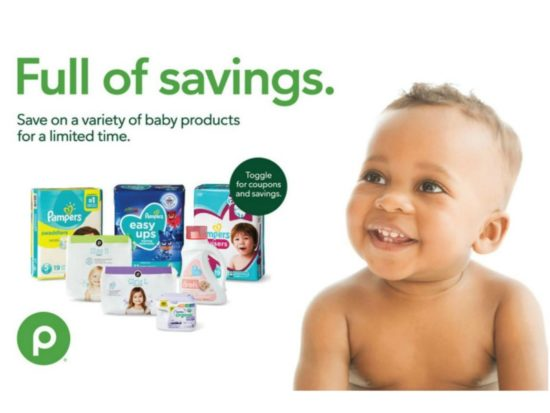 "New Baby Booklet - ""Full Of Savings"" Coupons Valid Through 8/26 on I Heart Publix"