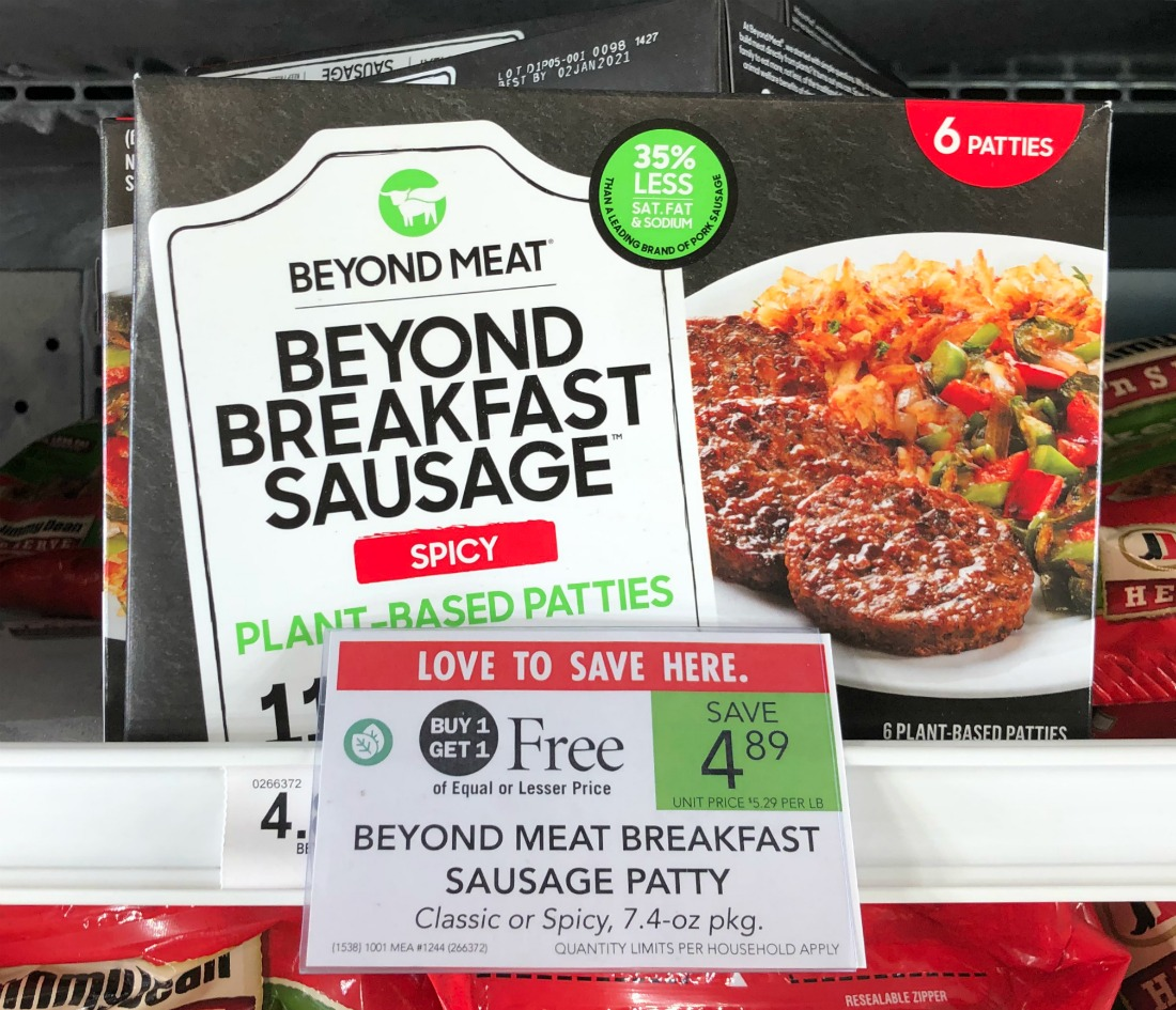 Beyond Meat Breakfast Sausage Patties As Low As $1.45 At Publix on I Heart Publix