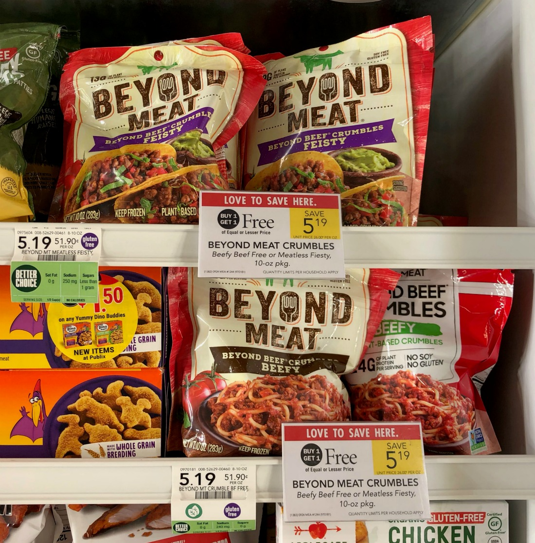 Beyond Meat Crumbles Only $2.79 At Publix on I Heart Publix