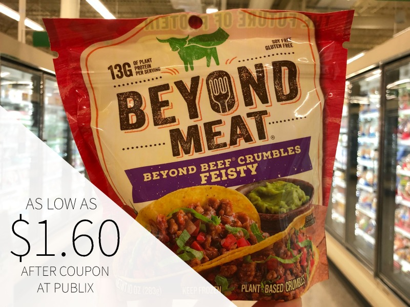 Beyond Meat Crumbles Only $2.79 At Publix on I Heart Publix 1