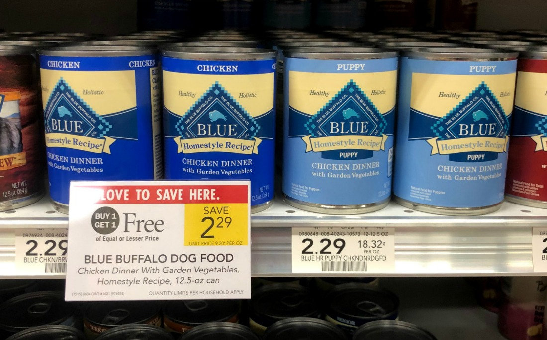 Blue Buffalo Dog Food Cans Just 65¢ At Publix on I Heart Publix