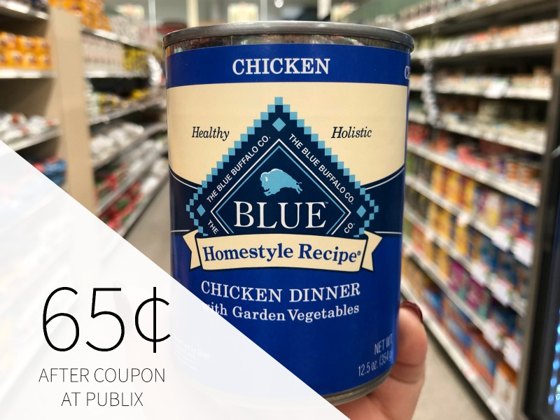 Blue Buffalo Dog Food Cans Just 65¢ At Publix on I Heart Publix 1